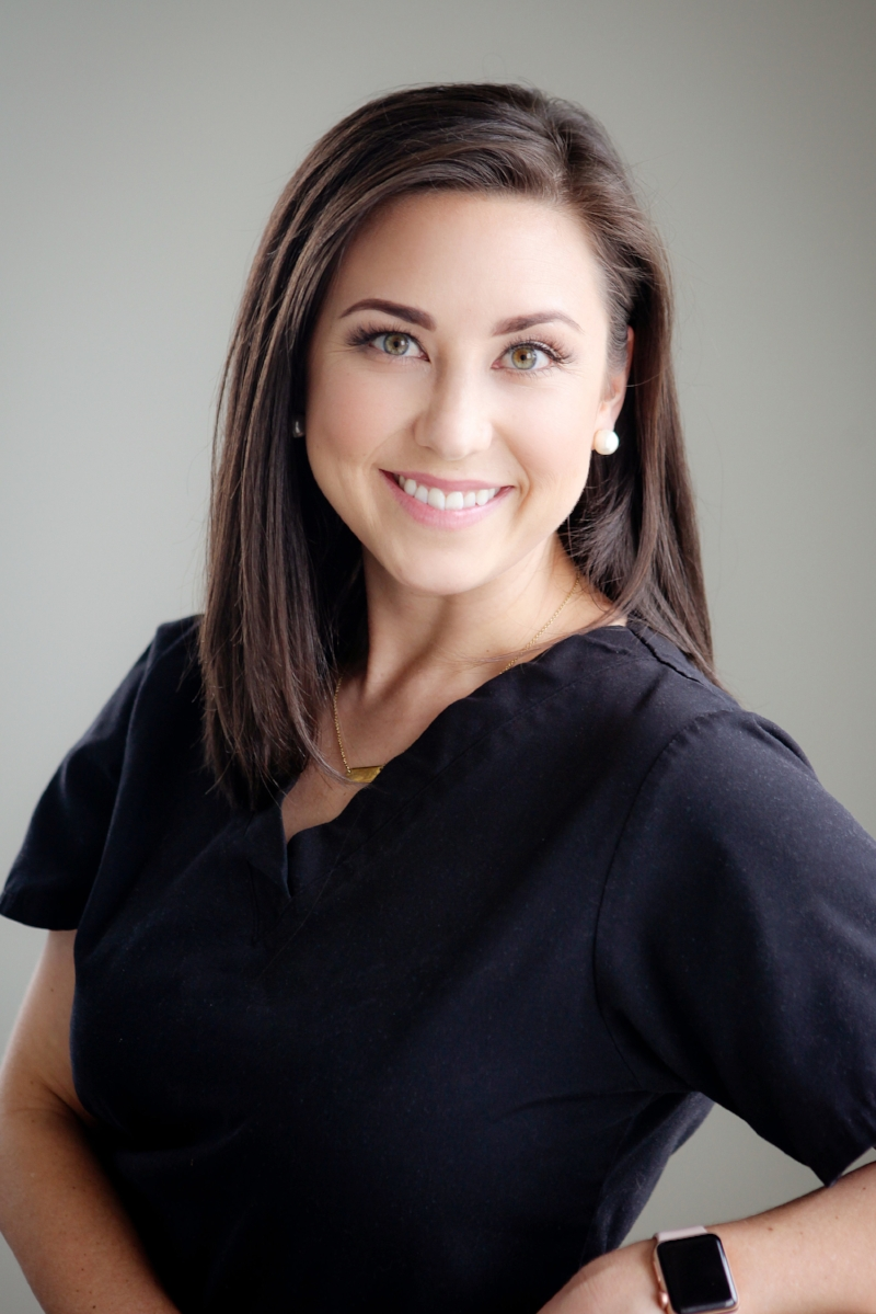 Sidney Selakovich, RN - Sidney Selakovich, RN is a leading cosmetic laser provider in Central Arkansas. She has training in IPL, Yag, and RF laser techniques. Sidney is also one of the most preferred aesthetic injectors in the state of Arkansas.  She has field experience in dermatology, which is helpful when her patients have complicated skin or healthcare conditions. Of utmost importance is Sidney's passion, drive and expertise in helping you achieve your aesthetic goals. Sidney's career joy extends after hours where she provides make-up for special events. In her free time, she is a wife and mother of two.