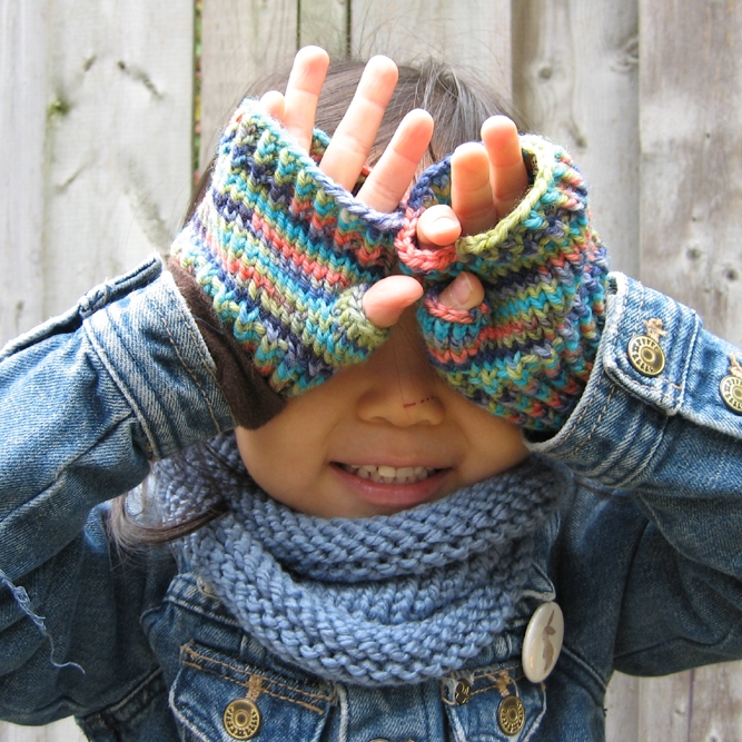 Pattern Little Hands Fingerless Gloves She Knits Purls