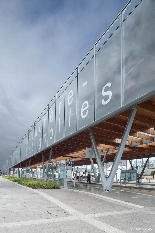 Architecture / Gare Haluchère Batignolles à Nantes / Architecte(s) : Luc Davy - Stéphane Geffard (AUP)
