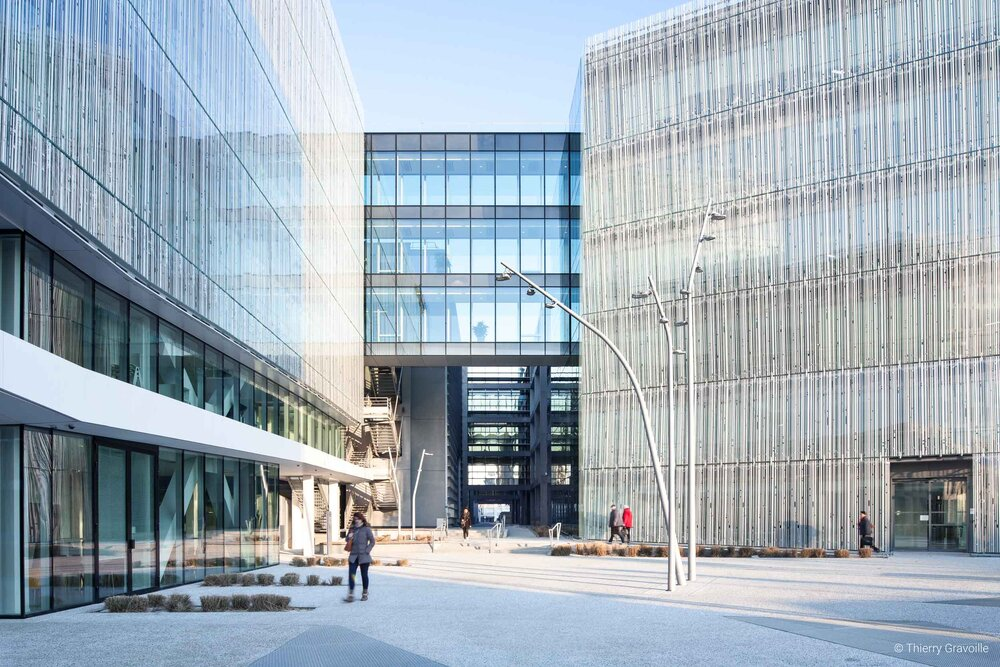 Architecture / Siège Crédit Mutuel Loire Atlantique à Nantes / Architecte(s) : AIA Life Designers