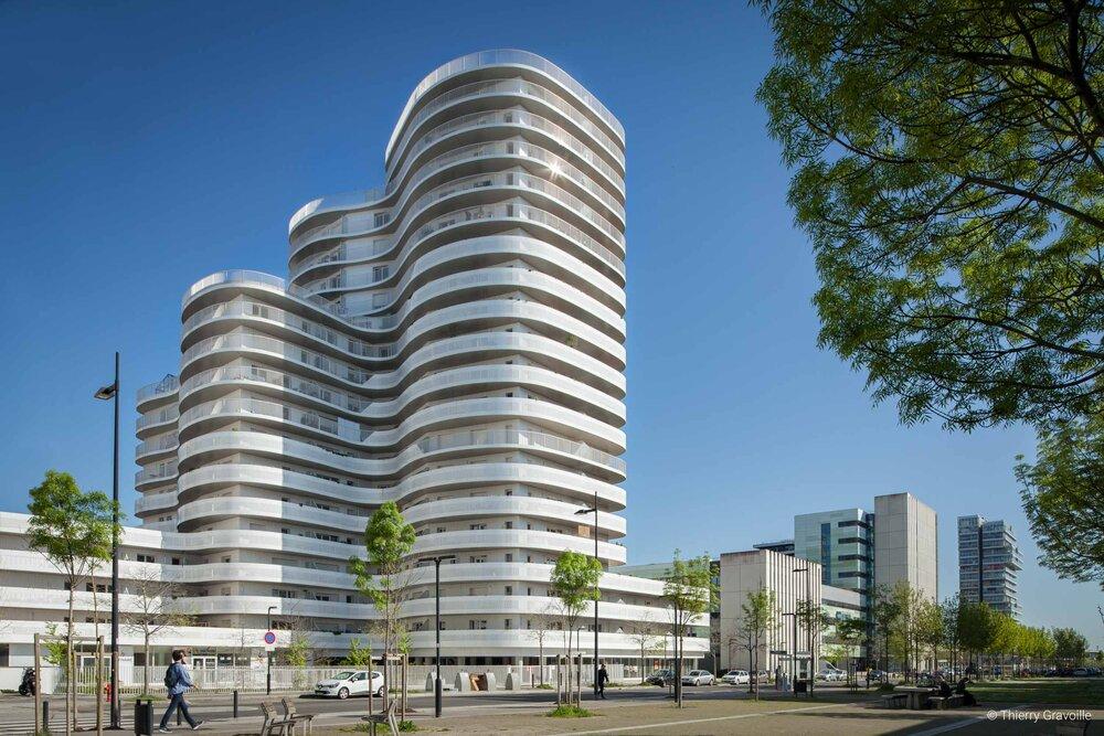 Architecture / Tour New'R à Nantes / Architecte(s) : Hamonic + Masson et Associés