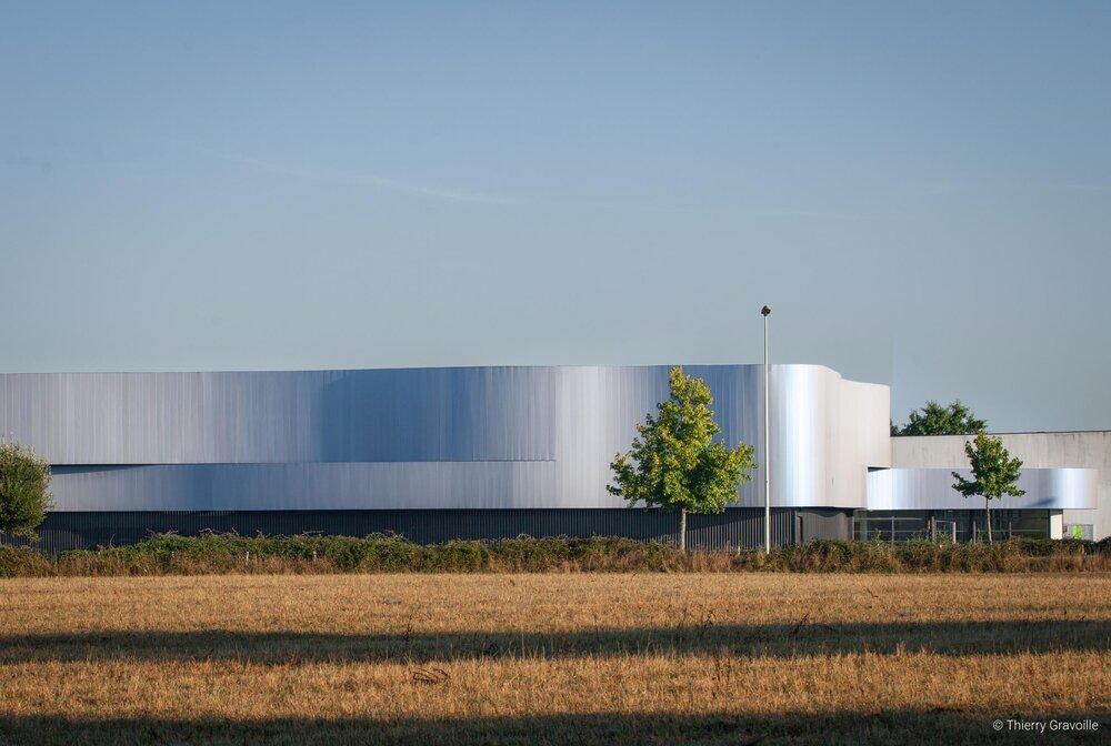 Architecture / Espace René Cassin au Pellerin / Architecte(s) : Didier Leborgne