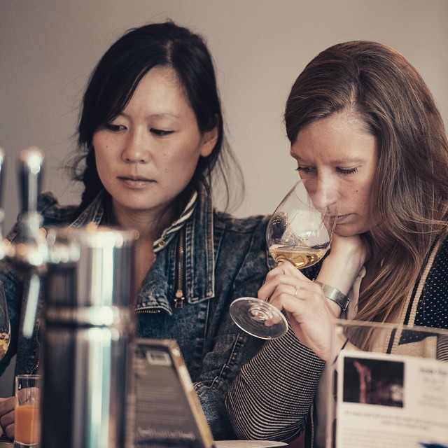 Natalie + Emily - We started Bottle Bracket as a game between friends. We love good wine and small producers with great stories. Oh, and we're married.