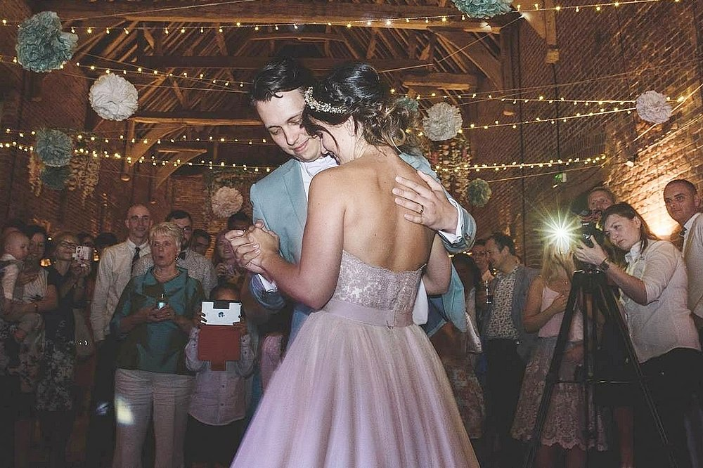 Danny and Grace's first dance