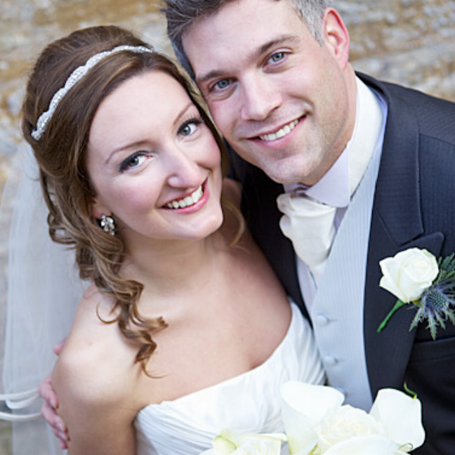 """Sarah and Chris. Brympton D'evercy, Somerset    """"I just wanted to say how grateful Chris and I are for everything you did to make our wedding as perfect as we could have dreamed. We feel so lucky to have had you as our wedding band, and everyone commented on how fantastic you were! But not only that, you helped me so much with my song and were so kind and more like good friends. I cannot thank you enough!"""""""