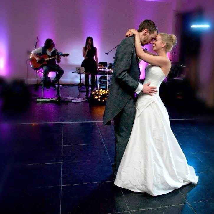 """Alex & Louisa. Botley's Mansion, Surrey    """"Thank you for playing on our very special day. The memories you made for us were amazing. Our first dance was perfect and you really got the party started and we didn't want it to end! Thank you from the bottom of our hearts."""""""