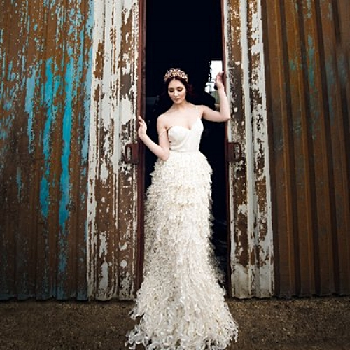 RIVER ELLIOT - CUSTOM MADE ETHICAL BRIDAL DRESSES. Based in East Anglia.     Website    Clare is so talented and so lovely! She really cares about her clients and also offers ethical wedding dresses which we think is fantastic! With Clare, you'll receive a beautifully made to order wedding dress that is truly unique and bespoke. Look at that dress!!!!!!!!!!!!!