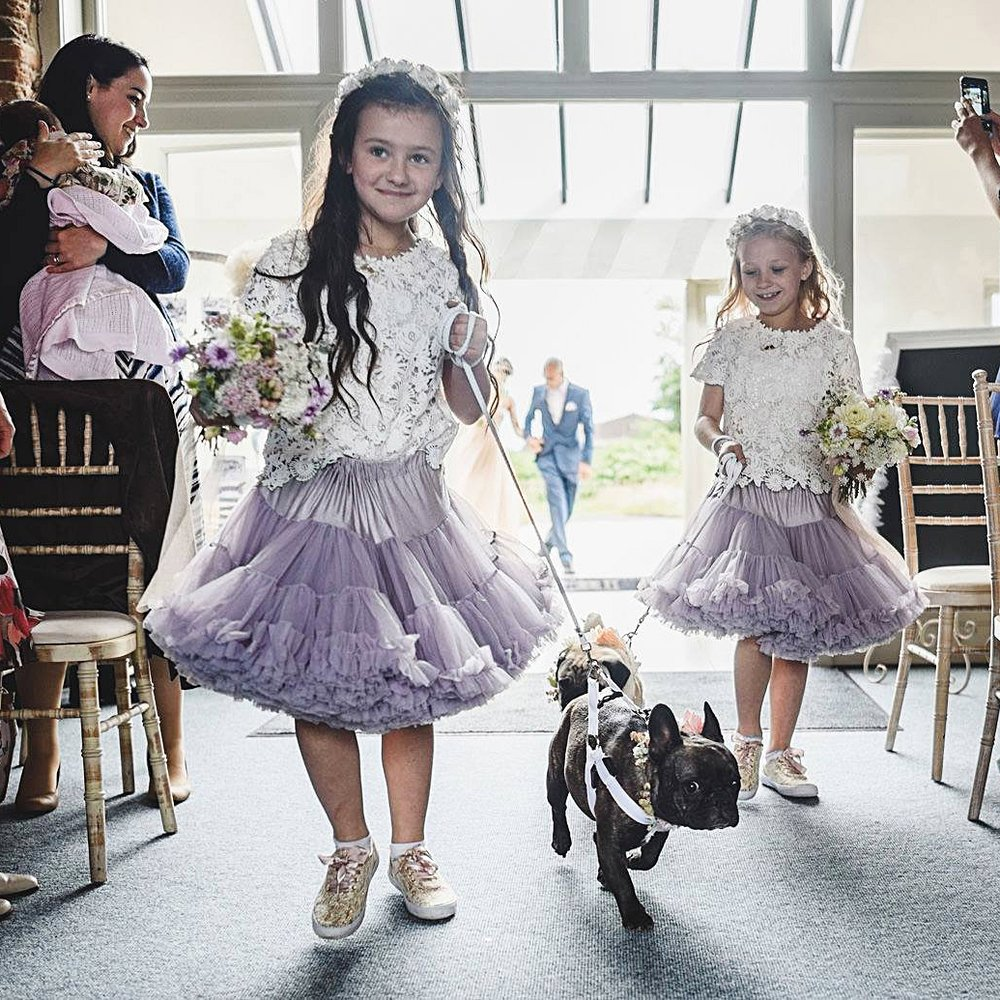 GODWICK HALL & BARN - PET FRIENDLY VENUE IN NORFOLK     Website    This venue impressed us by allowing the couple's doggies to be a huge part of their day - and we're rather fond of animals being included and the kind people who let them!