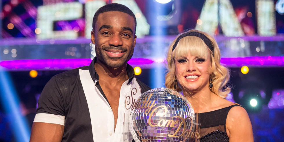 Ore Winning Strictly with Partner Joanne Clifton