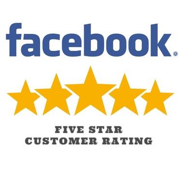 Facebook reveiw badge