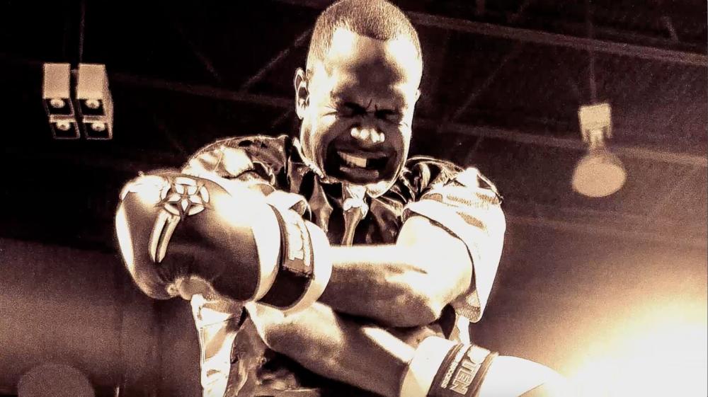 Professional Fighter Raymond Daniels