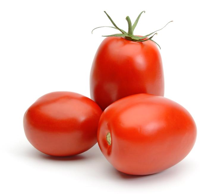 Roma Tomatoes. $2.50 per Pound.