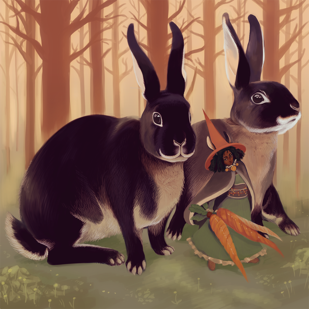 bunny witch