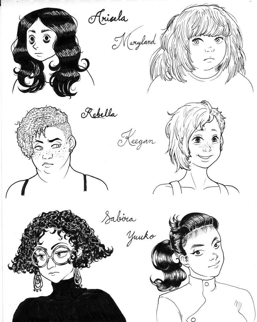 rdg character designs