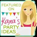 Featured on Kara's Party Ideas