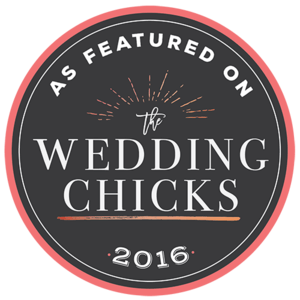 Featured on The Wedding Chicks 2016
