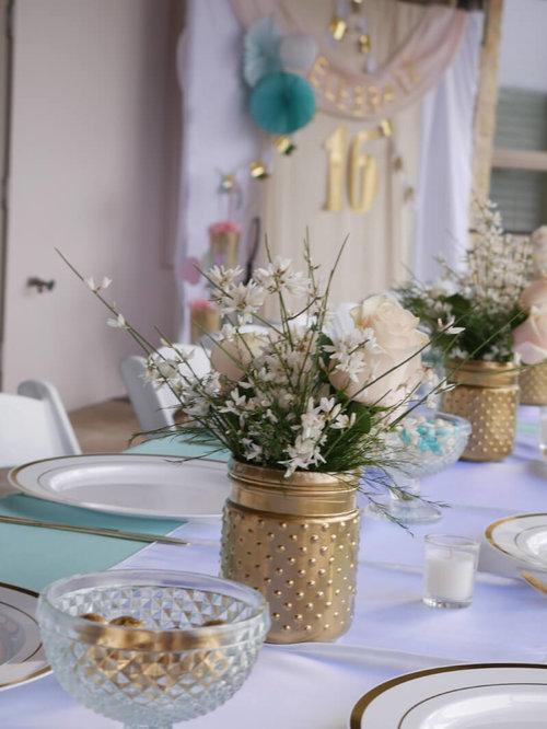 sweet sixteen party mint event design