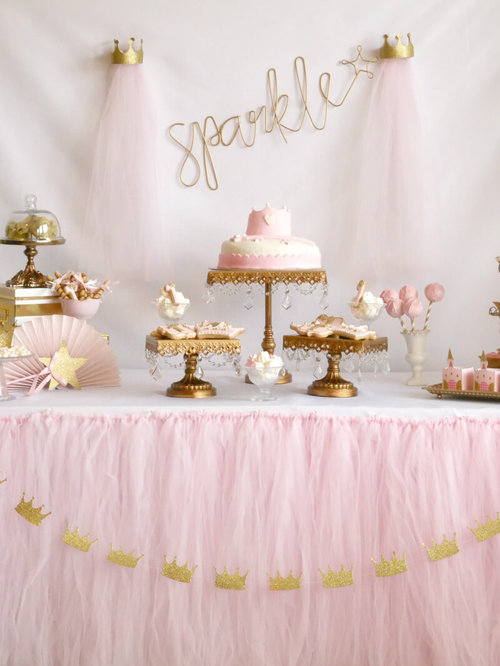 Little Princess Sparkle Birthday Party Mint Event Design
