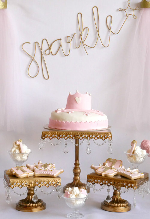 Little Princess Sparkle Birthday Party Mint Event Design