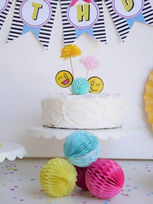 emoji birthday party idea