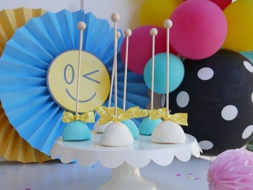 emoji birthday party idea adorable emoji dessert table idea
