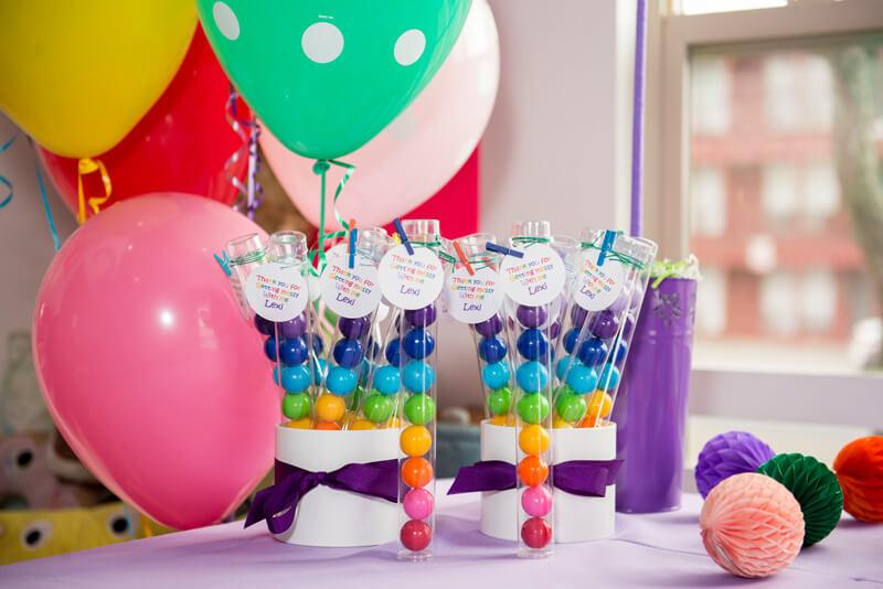 Lexi's Art Birthday Party