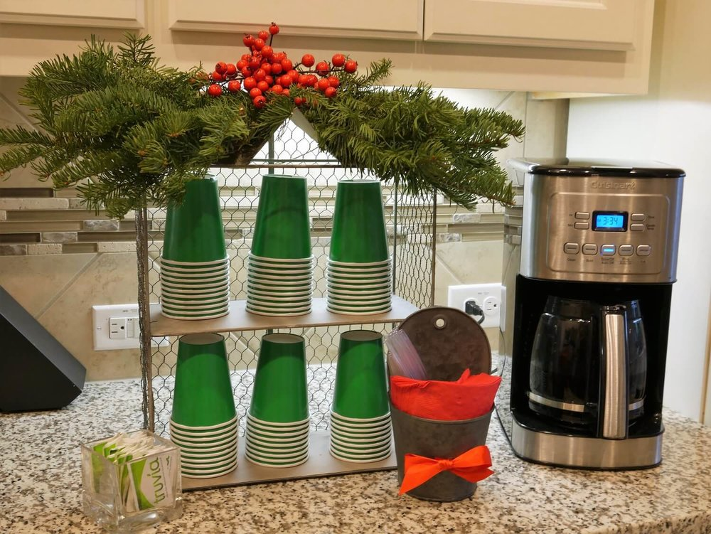 Christmas Coffee Station for all your Holiday parties