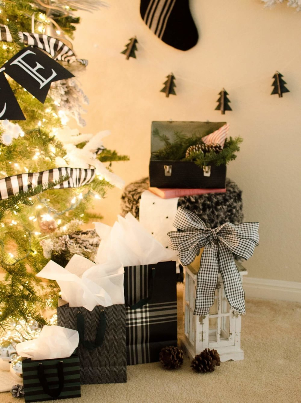 Christmas Tree decor and accents to add more character to your tree area