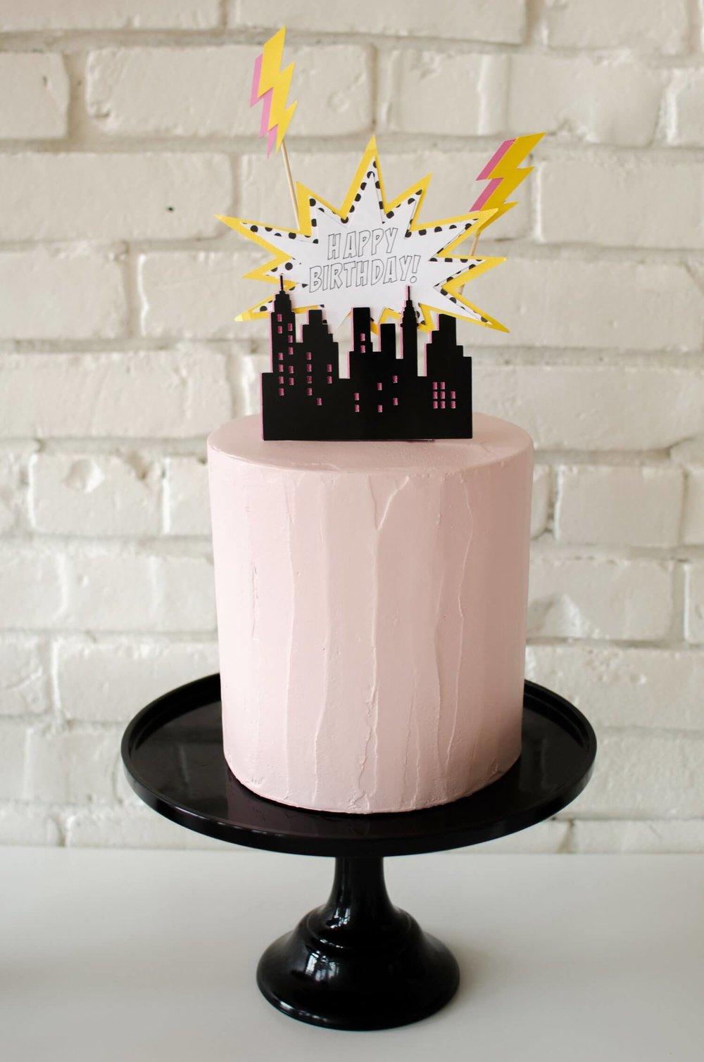 Bam A Superhero Birthday Party Mint Event Design