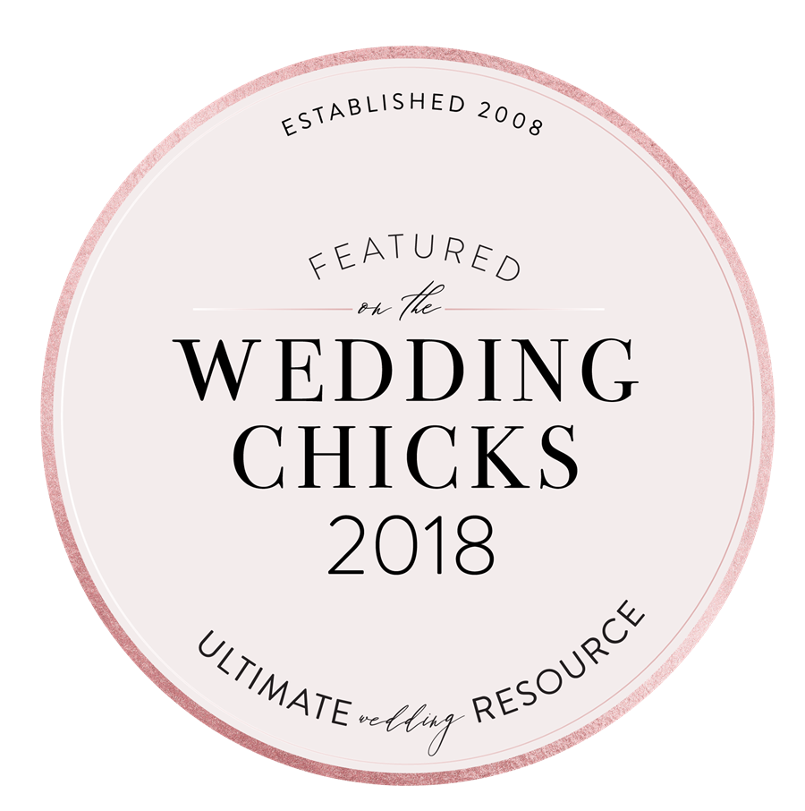 Featured by Wedding Chicks 2018