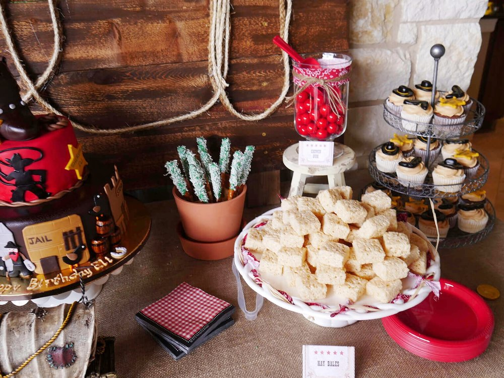 Dessert ideas for a cowboy party