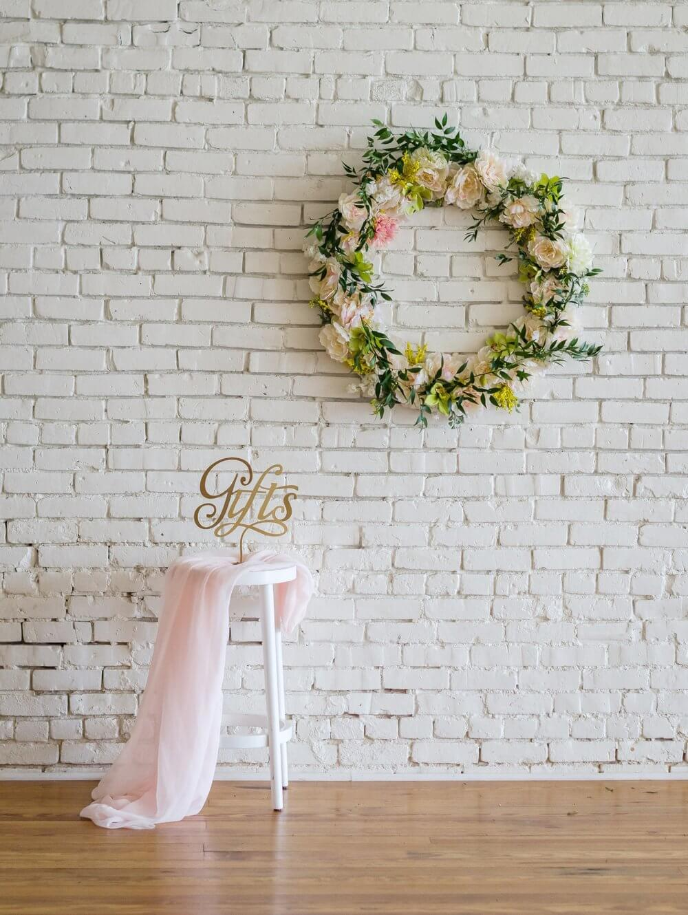 Bridal Shower Gift Area decor