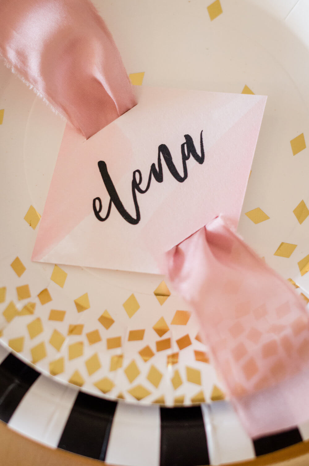 Adorable Name Plates for weddings