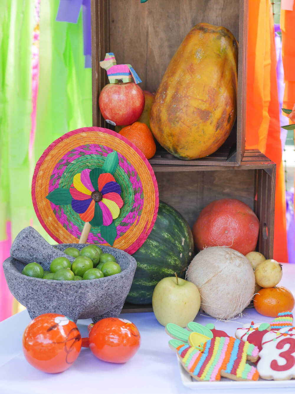 From pinata cookies to mini paper pinatas, this fiesta was the party to be at.