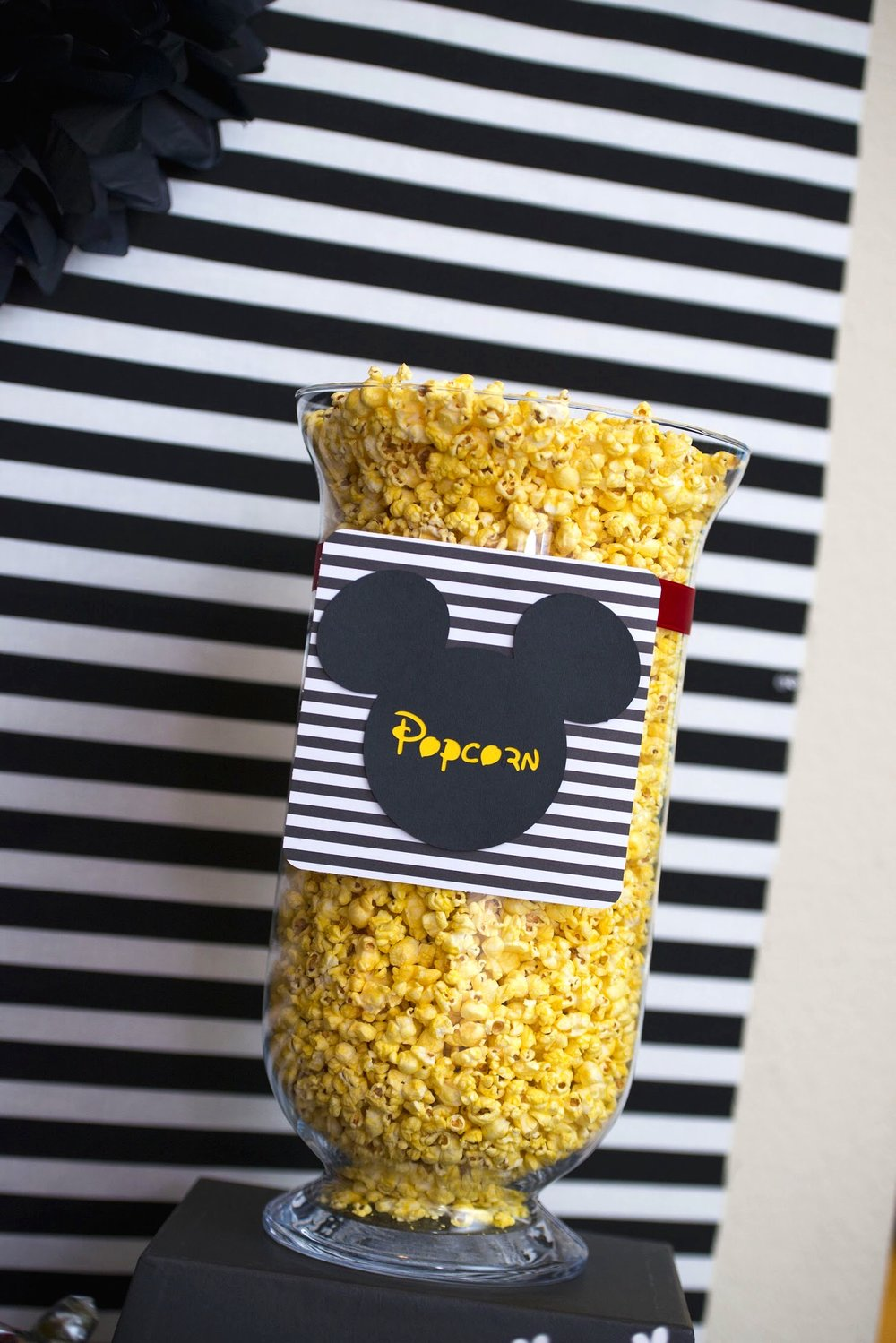 Who doesn't love Disney popcorn, perfect for a Disney movie Night!