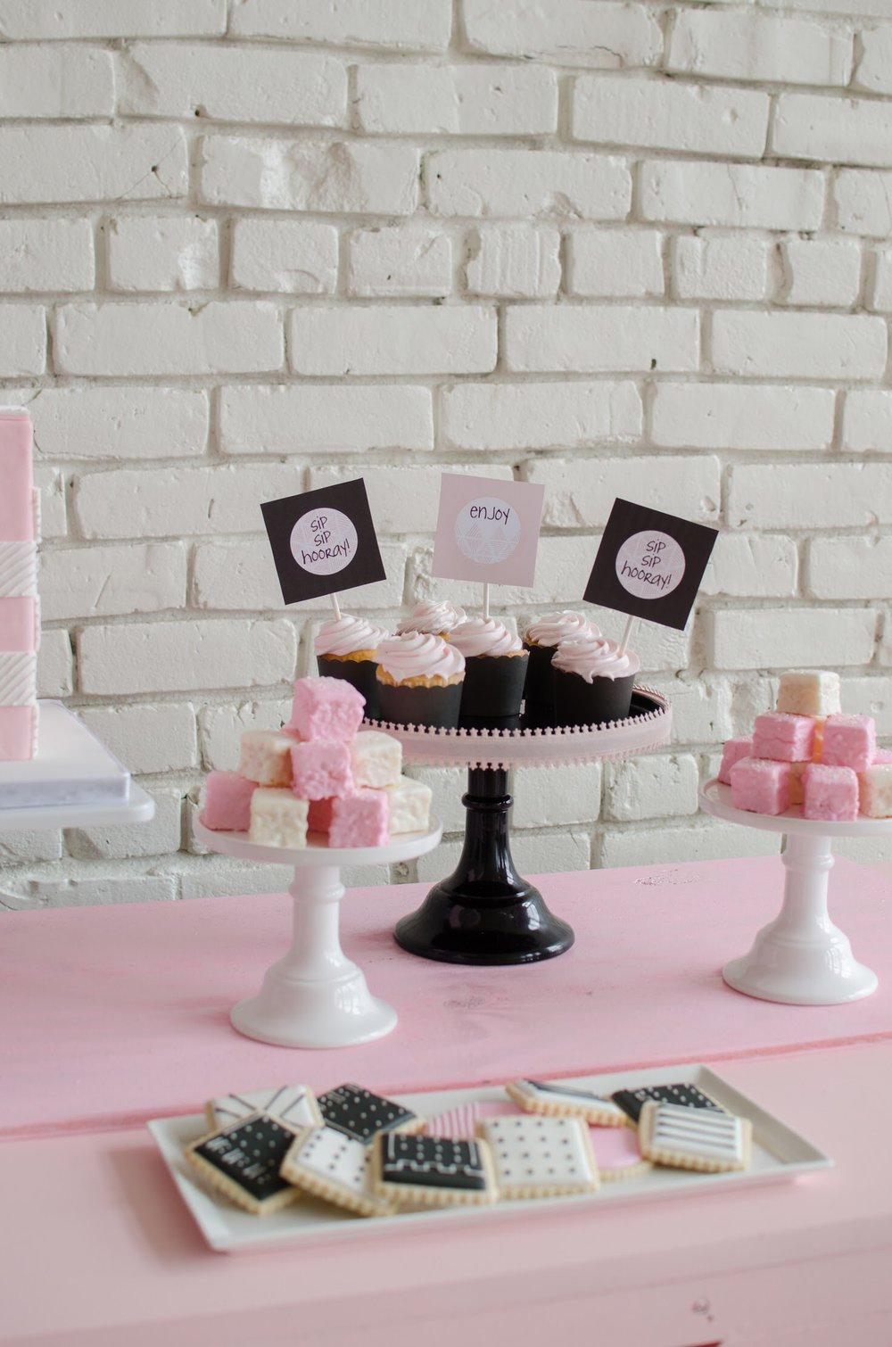 Loving this dessert table styled by Mint Event Design