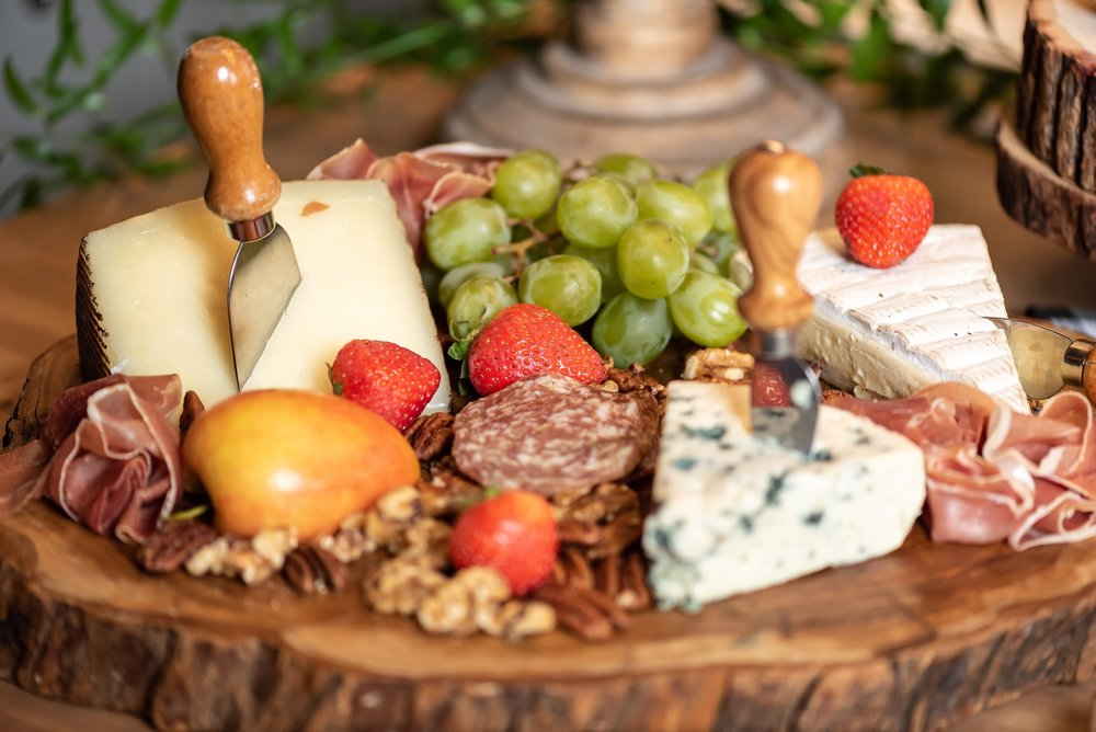 Charcuterie board from Mint Event Design