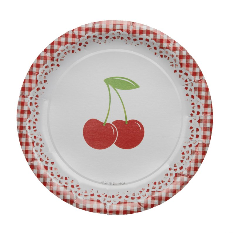 Cherry Party Dinner Plates