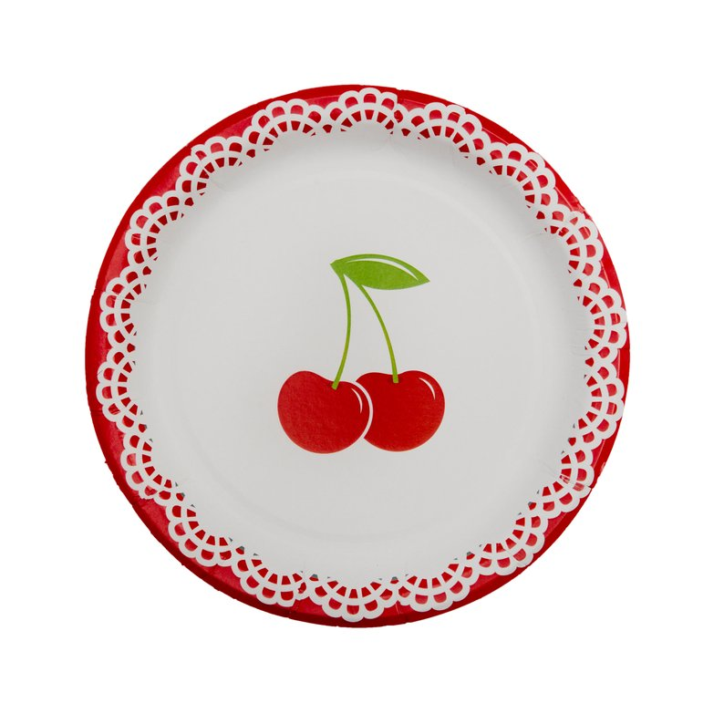 Cherry Party Lunch Plates