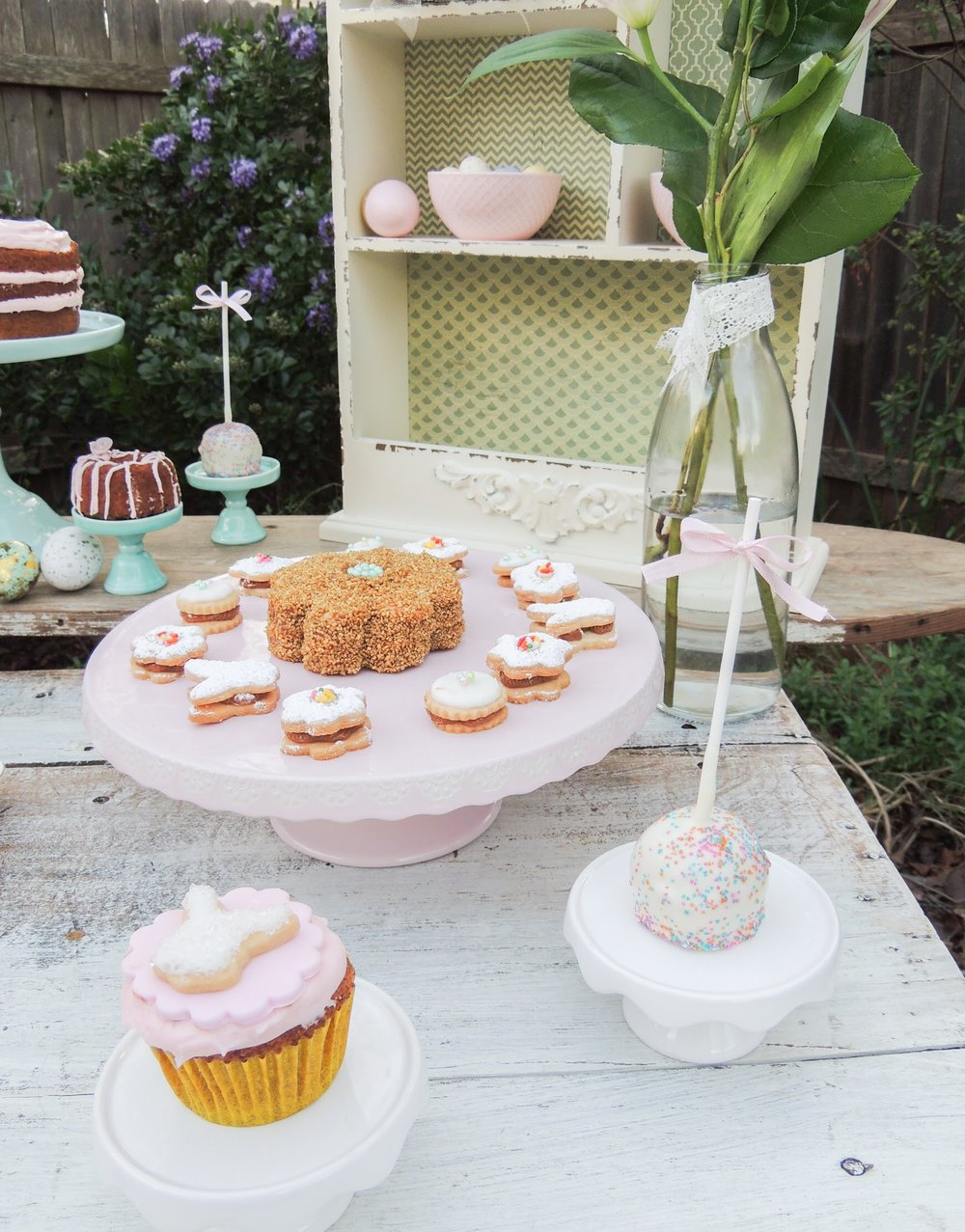 Pink pastel easter party ideas from Mint Event Design