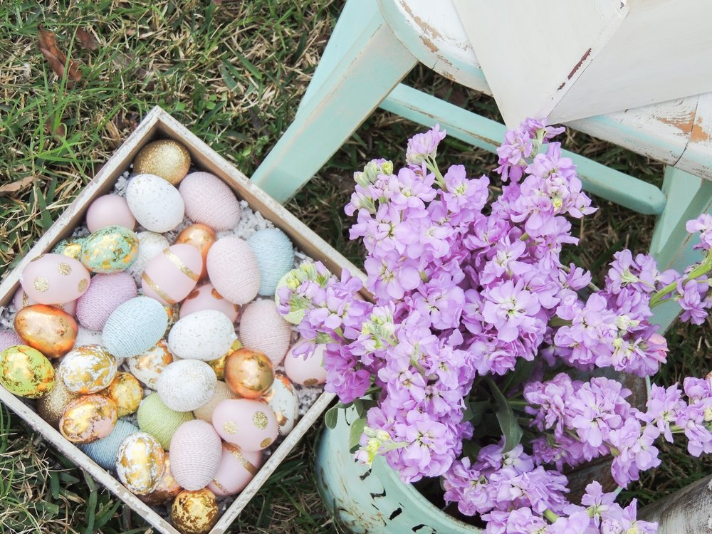 Easter party ideas from Mint Event Design