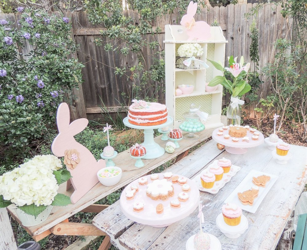 Shabby Chic Easter Desserts party