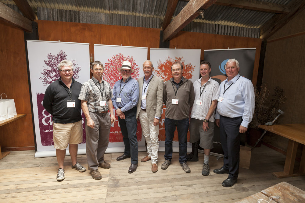 Tim Jones-Director, Stephen Darling-Director, Malcolm Macpherson-Chairman, Sid Birtles-Grower, Alan MacKay-Grower, Simon Webb-Grower, Gary Bennetts-Grower