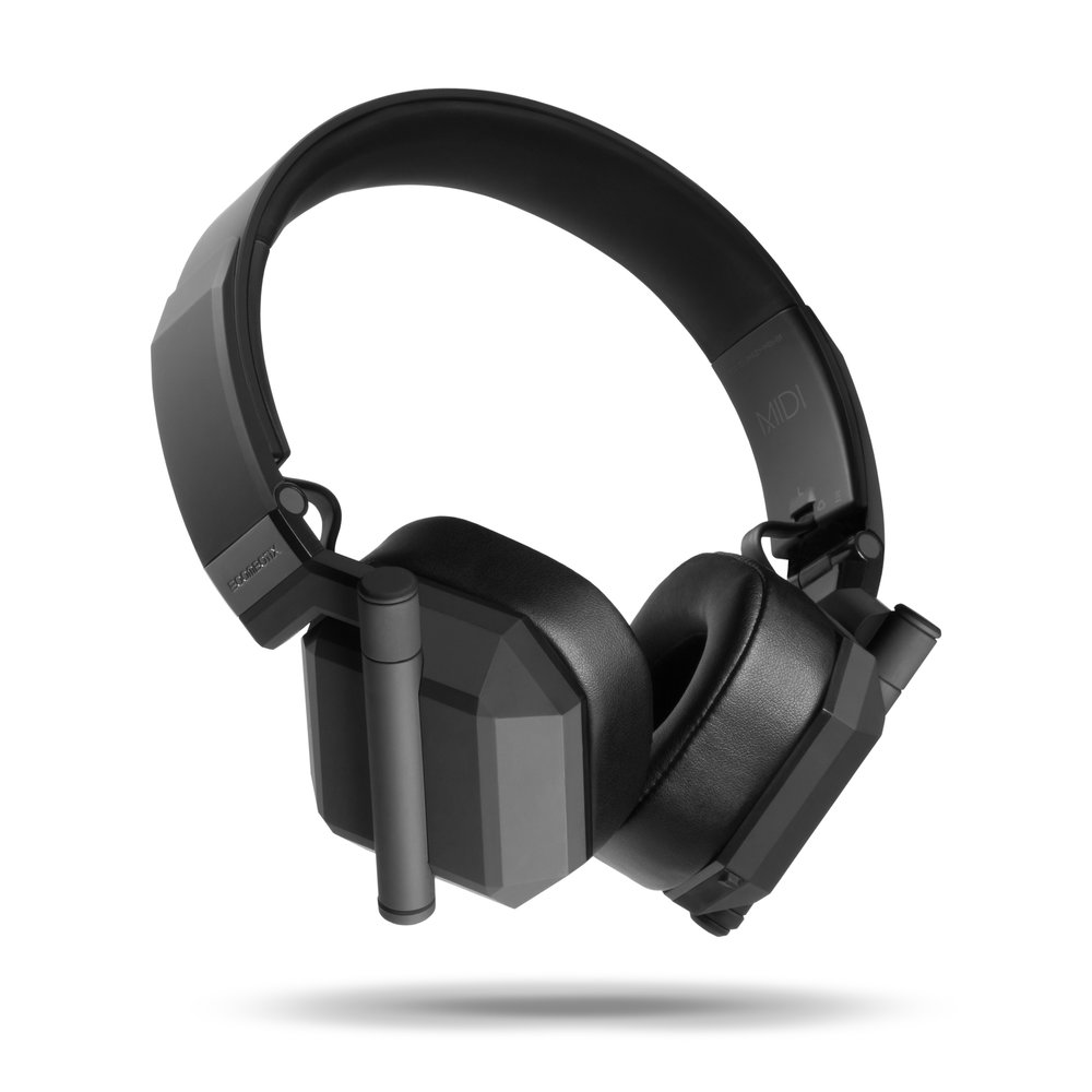 MIDI - The lightweight on-ear headphones have a unique diamond silhouette that stands out from the competition.