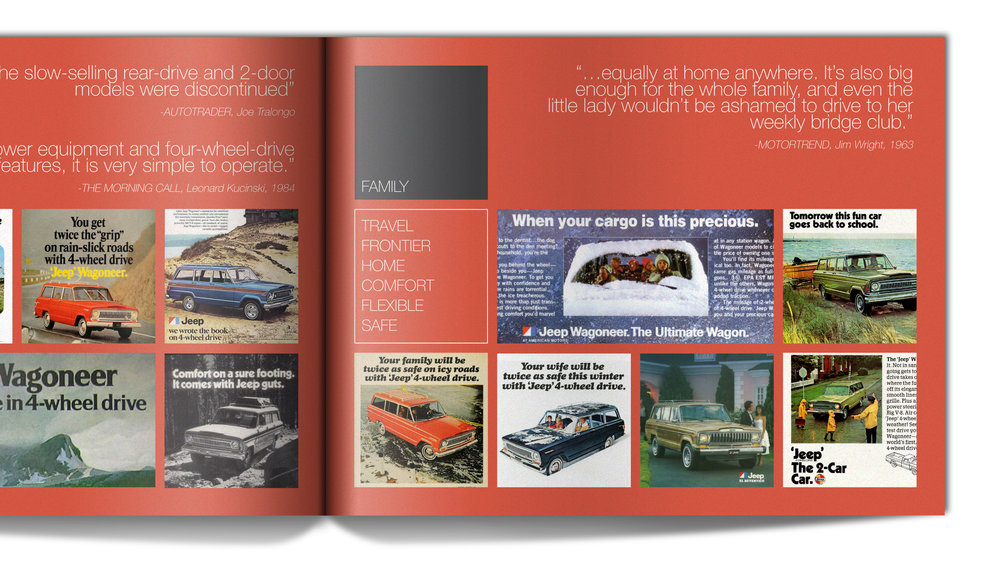 Heritage - Advertisements and reviews painted a picture for how the (SJ) Wagoneer's brand perception evolved over its 28 year production run.