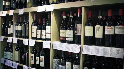 Wein, Aperitif & Digestif - Auserlesene Rot- & Weissweine, Prosecco, Grappa, Mirto etc.
