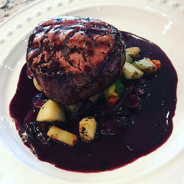 #filet in port wine sauce