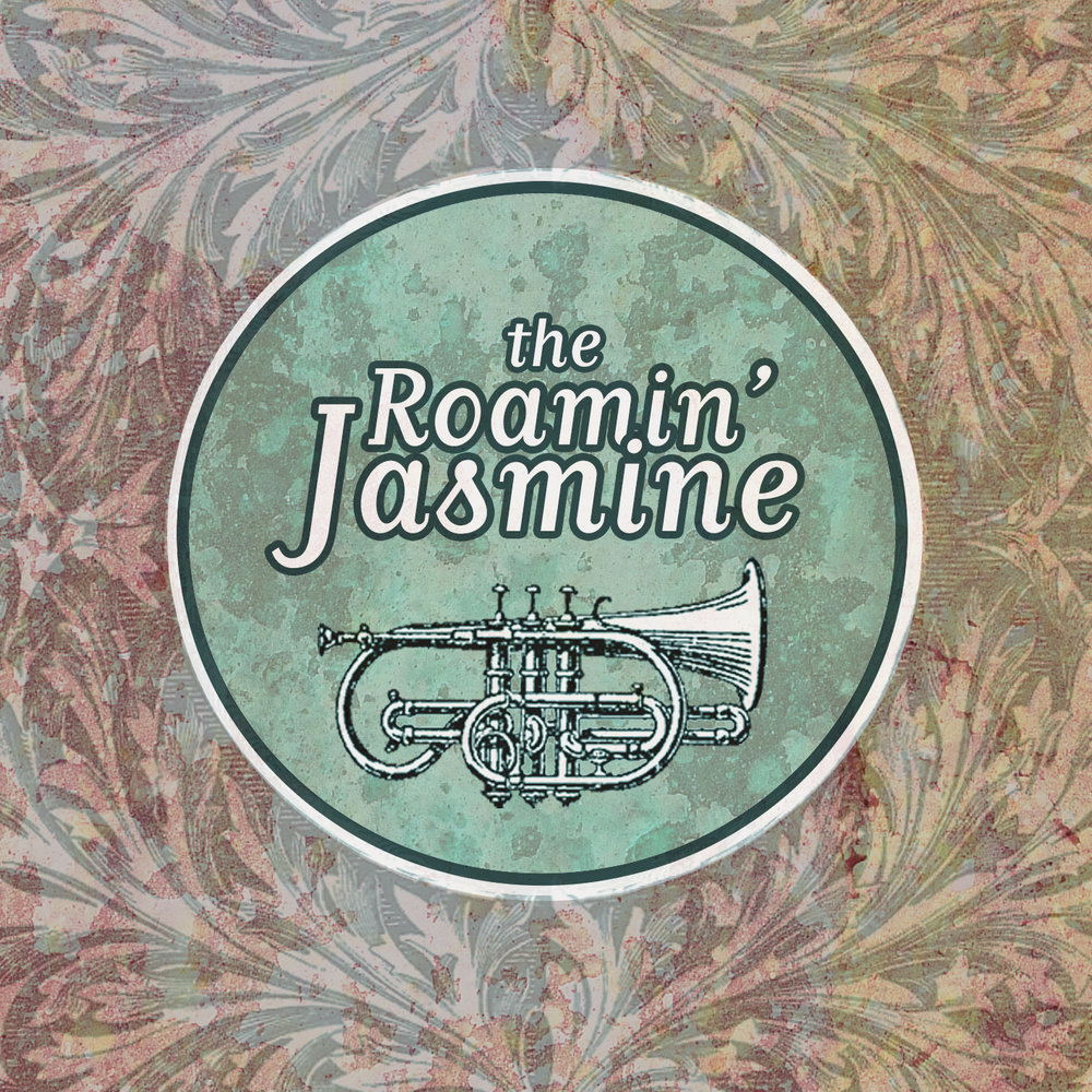 The Roamin' Jasmine - The first studio album recorded by the band in April 2014. Featuring lush arrangements of classic New Orleans jazz standards, original songs and some Caribbean Calypso from Trinidad.