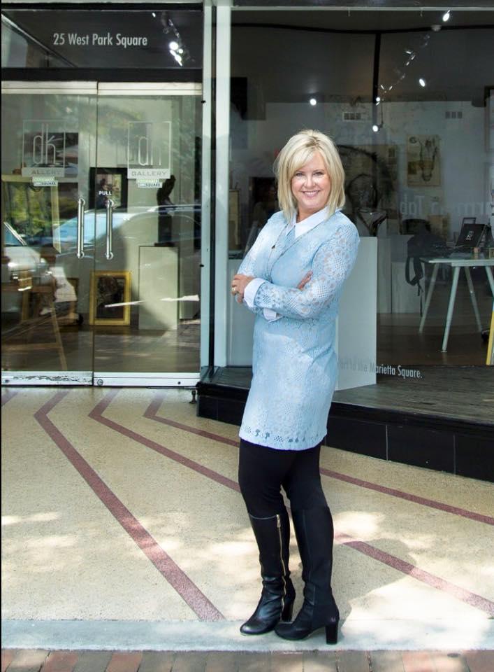Donna Krueger -dk Gallery, Marietta, Ga