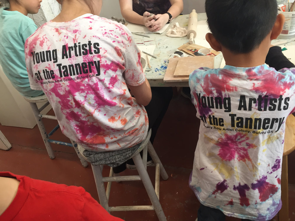Jean Plumer - Young Artists at the Tannery - Studio #97